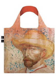 Torba LOQI VAN GOGH Self Portrait with Straw Hat Bag