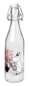 Szklana Butelka Retro Muminki Berries 500ml