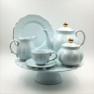 Porcelain coffee tableware for 4 people, Be My Guest